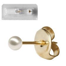 1 Studex Erstohrstecker Chirurgenstahl Ohrring vergoldet imitierter Perle 5mm