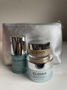 ELEMIS Pro-Collagen Set-eye Serum(full Size), Marine Cream(30ml), Cleansing Balm