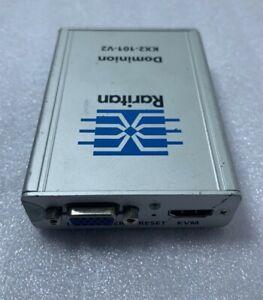 Raritan Dominion KX II-101 V2 KVM switch - KX2-101-V2