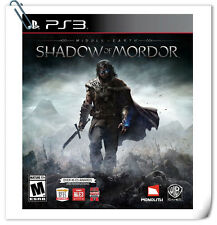 PS3 MIDDLE EARTH SHADOW OF MORDOR SONY PlayStation Action Warner Home Video Game