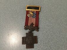Spanish American War Veterans Medal Philippine Cuba Puerto Rico Number 52919