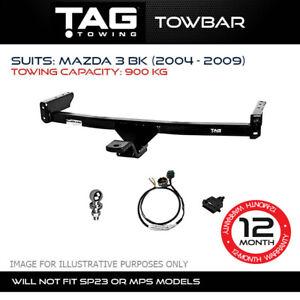 TAG Towbar Fits Mazda 3 2004 - 2009 Towing Capacity 900Kg 4x4 4WD Exterior