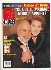 7 JOURS 95/07 (23/12/95) CELINE DION NATHALIE SIMARD GILLES RENAUD