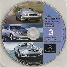 2008 Update Mercedes CD Base Navigation Map #3 Cover ND SD NE KS MN IA MO WI IL