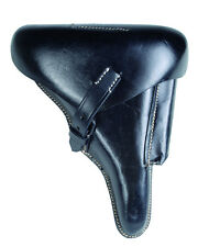 WH p08 Holster Hard Shell Pistol étui Leather Wehrmacht wk2 wwii