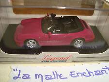 Porsche 911carrera 4 Cabriolet 1/43 boitage plexi Universal Hobbies