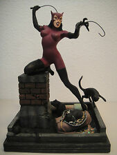 DC DIRECT CATWOMAN  STATUE MAQUETTE By Paquet BATMAN Rises Figurine TOY ANIMATED