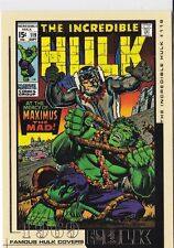 The Incredible Hulk Movie 2003 Marvel Famous Hulk Covers Trading Card #13 1969