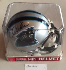 Chris Weinke Autographed Carolina Panthers Riddell NFL Official Mini Helmet