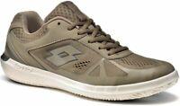 Scarpe Sneakers Uomo LOTTO S1457 QUARANTA VI AMF Marrone Sabbia