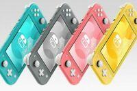 Brand New Nintendo Switch Lite Handheld Console Multiple GREY Colour EU Version