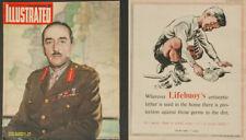 ILLUSTRATED MAGAZINES 1942-1946  3 COPIES