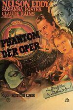 THE PHANTOM OF THE OPERA  (DVD) 1943, HORROR