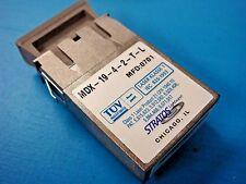 (1) Stratos MDX-19-4-2-T-L VCSEL Laser 1300nm Fiber 1.25GBd GB Ether Transceiver
