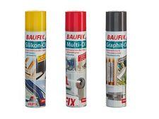 BAUFIX SET Multi-/Silikon-/Graphit-Öl Sprühdose 300ml
