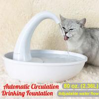 2.36L Haustier Wasserspender Brunnen  Für Hunde Katzen
