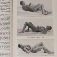 Hans Suren German Male Massage Photo Book 1920s Gay Nude Model Skin Care Sport
