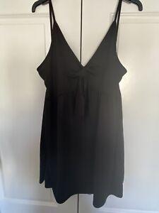 Boohoo Black Summer Dress Size 24