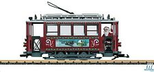 LGB 72351 CHRISTMAS TROLLEY SET G SCALE COMPLETE WITH TRACK AND TRANSFORMER SALE