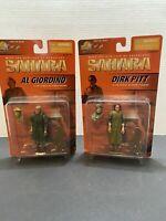 SAHARA Dirk Pitt & Al Giordino MOC FIGURE 21st Century Toys. Rare !!!!