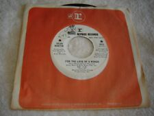 Dean Martin - For the Love of a Woman / Tracks of My Tears 45 promo Reprise