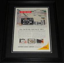 1959 Kodak Signet 80 11x14 Framed ORIGINAL Vintage Advertisement B