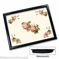 Knietablett ❤ Roses 44 x 34 cm Padded Cushioned Lap Tray Plateau rembourré