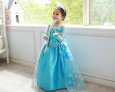 Robe Déguisement Costume La Reine des Neiges2Frozen Elsa Anna-Enfant Fille 3-10