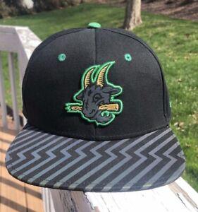 RARE YOUTH Hartford Yard Goats Minor League Baseball Hat Cap SnapBack 3M Kids