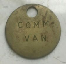 """Comm Van"" Commercial Van Badge"