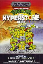 ## Turtles: Hyperstone Heist - SEGA Mega Drive / MD Spiel - TOP ##