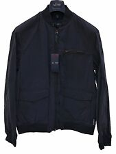 ARMANI JEANS FULL ZIP JACKET Navy Blue £295 100% Authentic XXL / EU 56 / UK 46