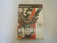 Metal Gear Solid 2 - Sony PlayStation 2 - Sans Notice - Occasion - PAL