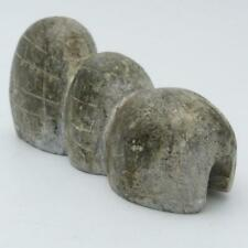 VINTAGE INUIT STONE CARVING OF AN IGLOO