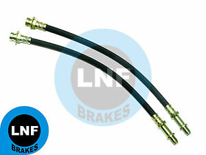 PLYMOUTH GTX ROADRUNNER DRUM BRAKE HOSE FRONT PAIR 70 71 72 1970 1971 1972 X2