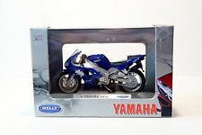 Welly 1999 Yamaha YZF-R1 1:18 Scale Diecast Motorcycle Model NEW