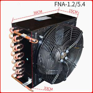 FNF-1.2/5.4 5.4m² 220V 60W 1HP condenser copper tube aluminum fin loop radiator