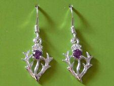 Unbranded Amethyst Sterling Silver Fine Earrings