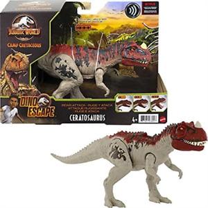 Jurassic World Camp Cretaceous Roar Attack Ceratosaurus - New in stock