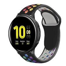 Reloj de pulsera Correa deportiva de silicona para Samsung Galaxy banda activo 2 40mm 44mm