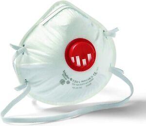 10x Atemschutzmaske FFP2 mit Ventil Staubmaske Feinstaubmaske Mundschutz