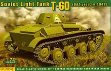 Ace Models 1/72 Soviet World War II T-60 LIGHT TANK (GAZ Production m.1942)