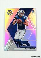 2020 Panini Mosaic Silver Mosaic Prizm Jacob Eason RC #236 Colts