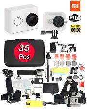 Original XiaoMi Yi 1080P WIFI Helmet Cam Sports Action Camera+35in1 Accessories