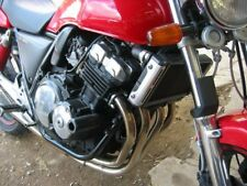 R&G Crash Protectors Classic Style for Honda CB400SF (All Years)     Black