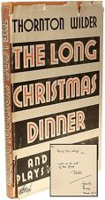 Thornton Wilder - The Long Christmas Dinner - FIRST EDITION - PRESENTATION COPY!