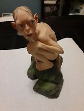 """Lord of Rings Smeagol Gollum Ceramic Statue Two Towers Sideshow Weta Figurine 7"""""""