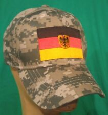 German Flag Camoflauge Baseball Cap Germany Flag Hat