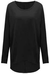 Women Loose Long Sleeve Baggy Jumper Casual Tops