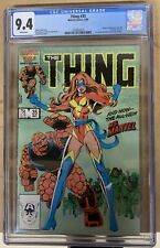 THE THING #35 CGC 9.4 NM 1ST POWER BROKER Disney+ MCU Falcon And Winter Soldier